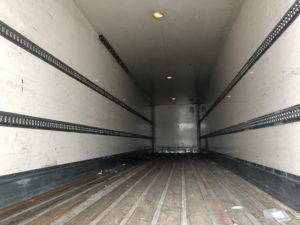 inside view of a rental box trailer