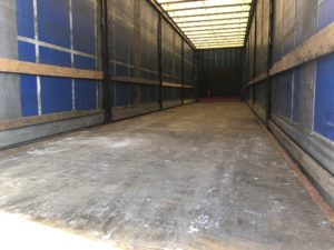 inside rent trailer