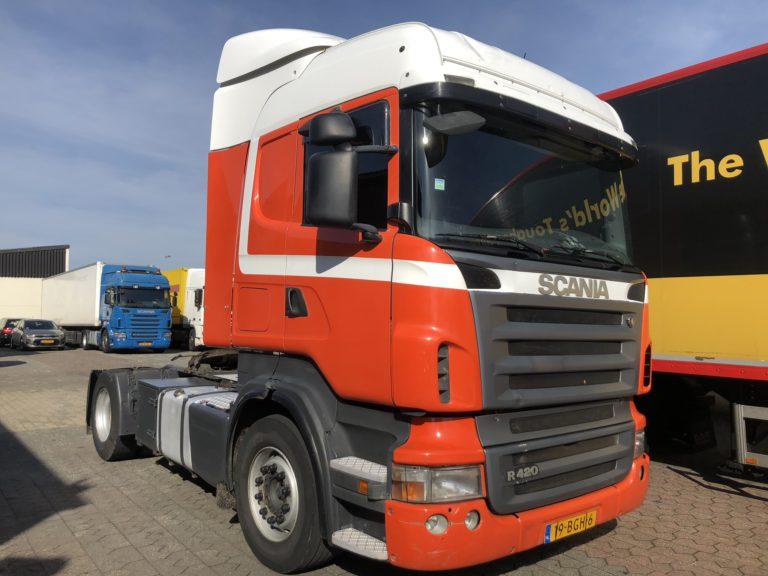scania R420 rental truck