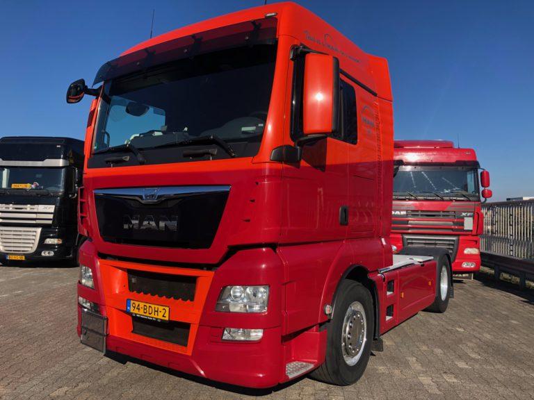 MAN euro 6 ADR vrachtwagen verhuur
