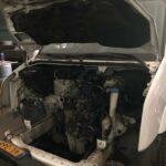 reparatie motor van auto